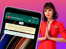 ava airasia whatsapp