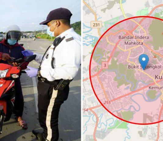10 km radius