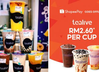 tealive shopeepay