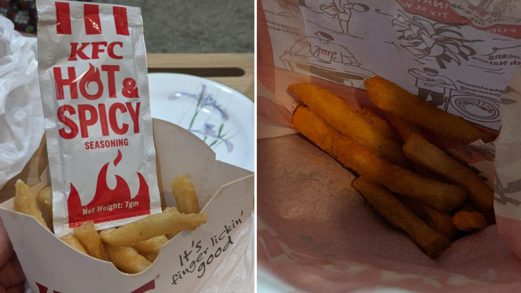 KFC Extra Hot And Spicy